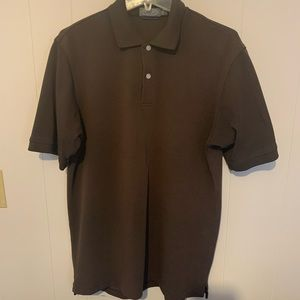 EUC  Talbots shirt - size S - color - brown